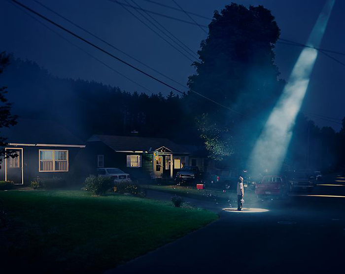 Gregory Crewdson, Untitled (Beer Dream), 1998. C-print, 127 x 152.4 cm. Courtesy Luhring Augustine Gallery, New York