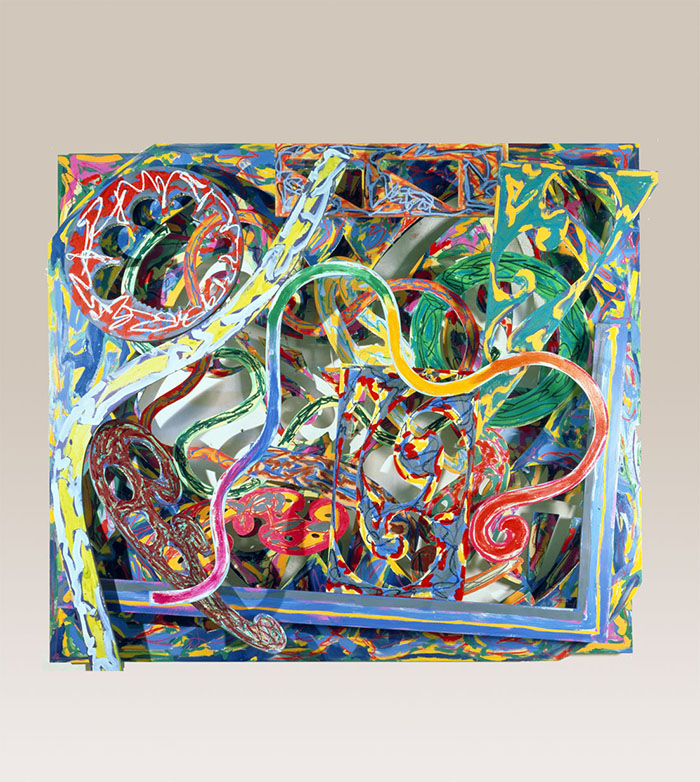 Frank Stella, Diepholz II (1982). Courtesy Nasher Sculpture Center, Dallas.