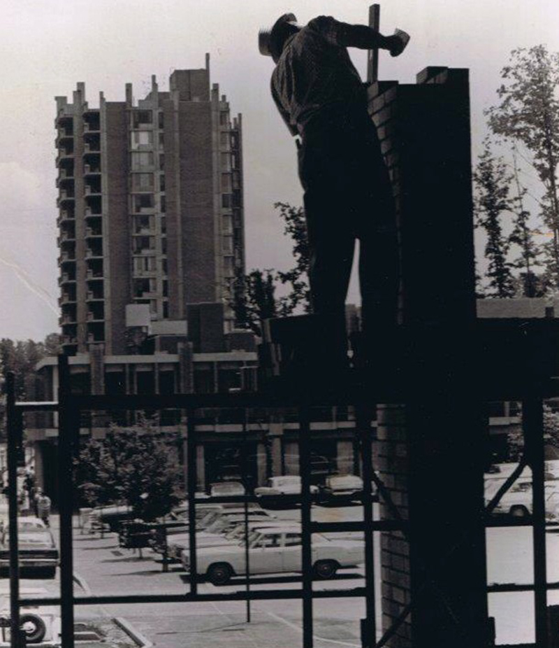 """Flashback Monday: The Most Soviet Photo of Our Brutalist Gem, Ever, The End."" (photographer unknown, likely early 1960's)   Restonian, accessed April 20, 2015, http://www.restonian.org/2013/04/flashback-monday-most-soviet-photo-of.html"