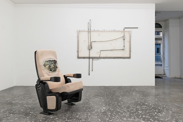 Dora Budor: The Architect's Plan, His Contagion, and Sensitive Corridors, 2015 Exhibition View at New Galerie, Paris Courtesy the Artist and New Galerie