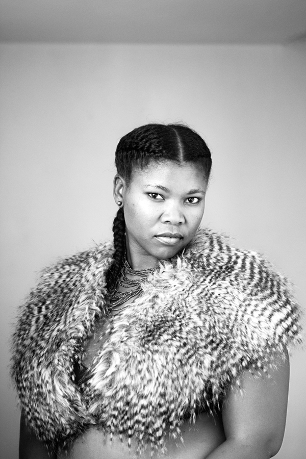 Charmain Carrol, Parktown, Johannesburg. From the series Faces and Phases, by Zanele Muholi, 2013.