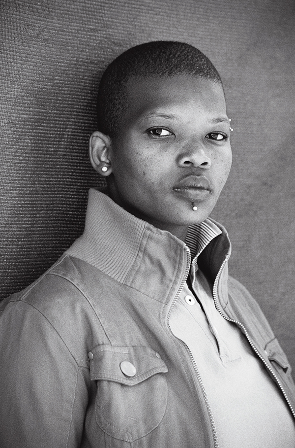 Puleng Mahlati, Embekweni, Paarl from the series Faces and Phases, by Zanele Muholi, 2009