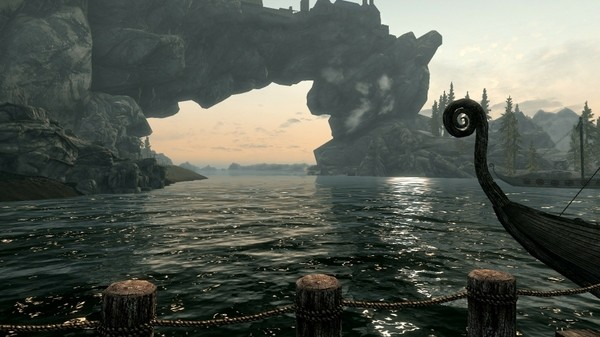 Landscape imagery from Elder Scrolls Skyrim