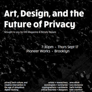 Art, Design, and The Future of Privacy