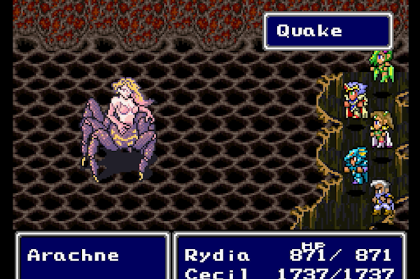 Arachne in Final Fantasy