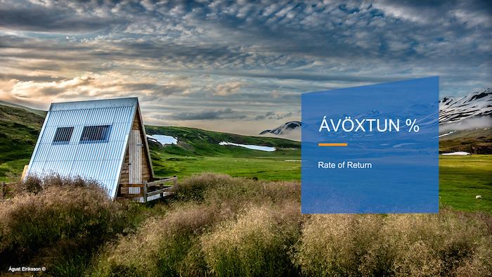 Saemundur Thor Helgason, 'Rate of Return %' (2016). Promotional material. Photo credit: Ágúst Eiríksson ©