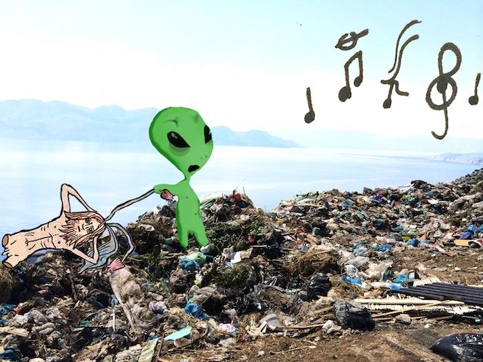 'Trash music' Stefanos Mandrake 2016