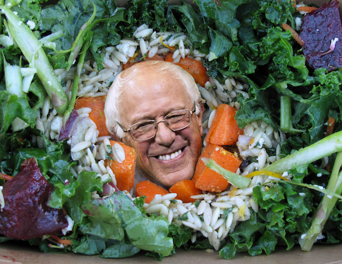 Nick DeMarco, Bernie salad, 2016.