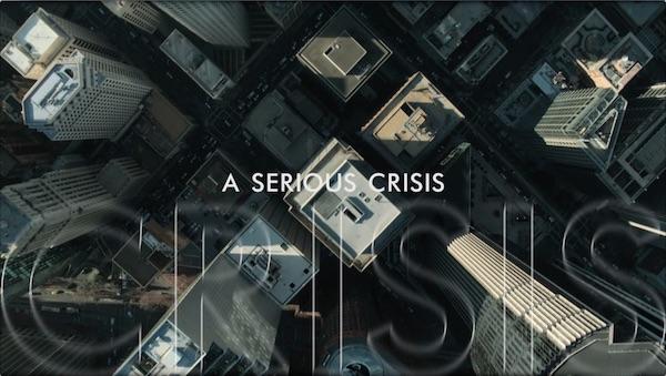 Lou Cantor, Crisis, 2015, Video still.