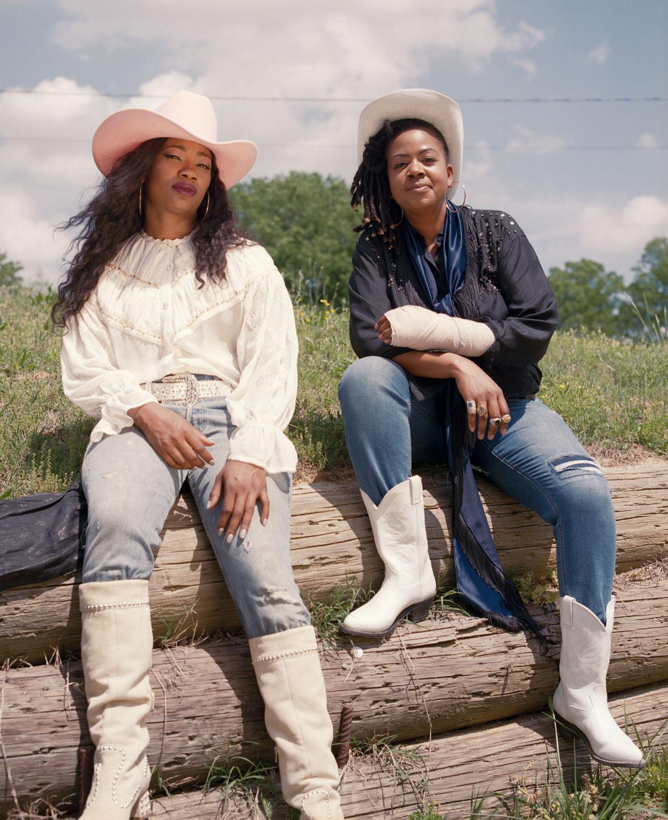 Sandra Dorsey and Selina Brown